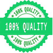 100 % Quality Assurance